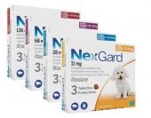 Nexgard dog S x3tabs chewable
