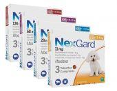 Nexgard dog XL x3tabs chewable