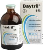 Baytril 5% inj 50ml