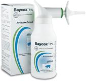 Baycox 5% susp.vial 250ml